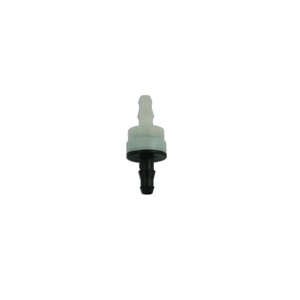 Washer Tube Connector - Straight Non Return Valve - Pack Of 5