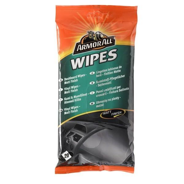 Dashboard Wipes - Matt Finish - Pack Of 20