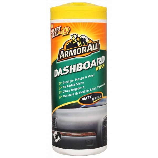 Dashboard Wipes - Matt Finish - Tub Of 30