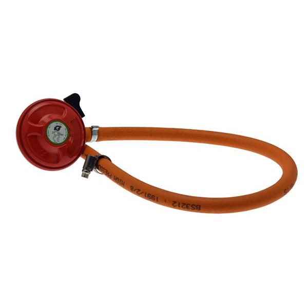 Patio Gas Hose & Regulator Kit - 600mm