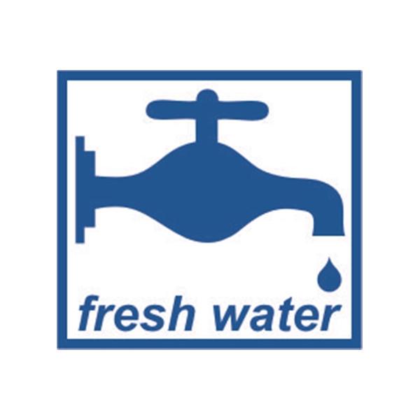 Self Adhesive Sticker - Fresh Water