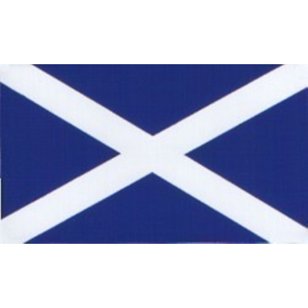 Self Adhesive Sticker - Rectangle Scotland Flag