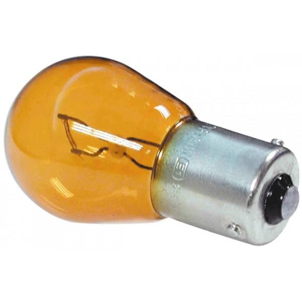 BAU15S Amber Bulb - Offset Pins - 12V -21W