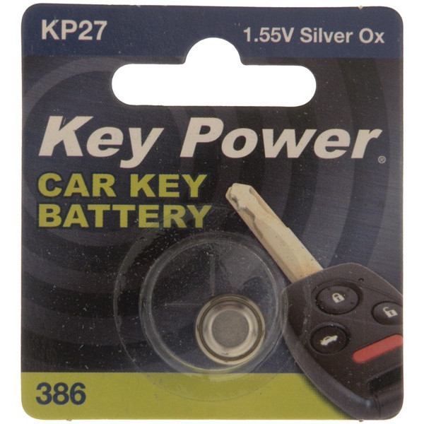 Coin Cell Battery 386 - Silver Oxide 1.55V - Box of 10
