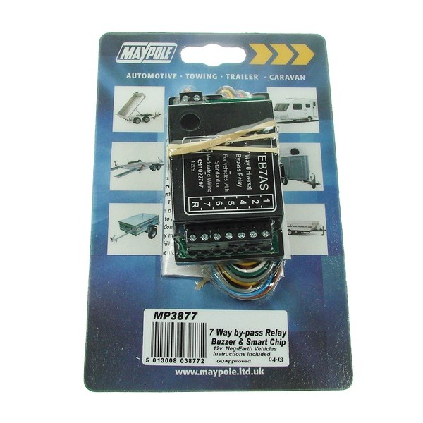 7 Way Bypass Relay - Display Pack