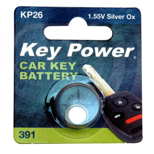 Coin Cell Battery 391 - Silver Oxide 1.55V - Box of 10