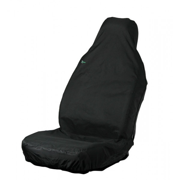 Car Seat Cover - Front Single - Black