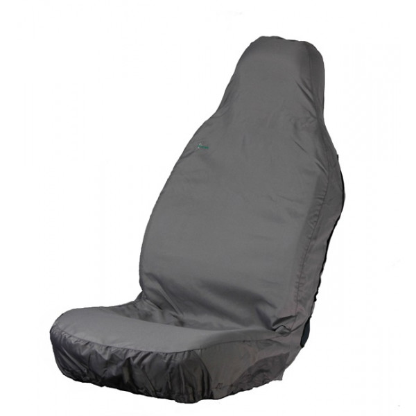 Car Seat Cover - Front Single - Grey