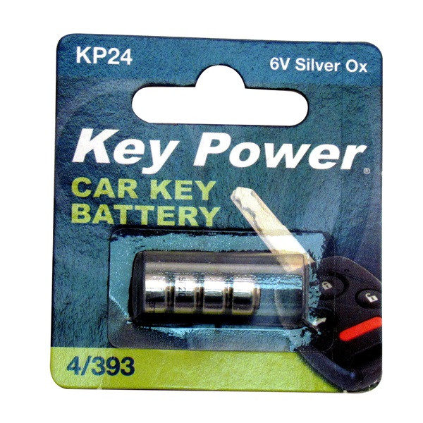Coin Cell Battery 4/393 - Silver Oxide 6V