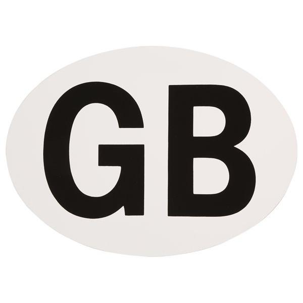 Self Adhesive GB Badge