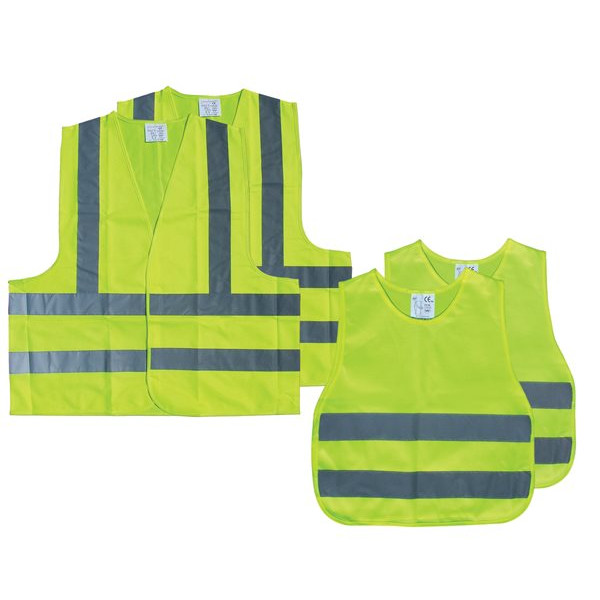Family Pack High Visibility Vests