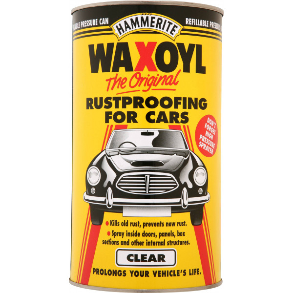 Rust Treatment Pressure Can - Clear - 2.5 Litre