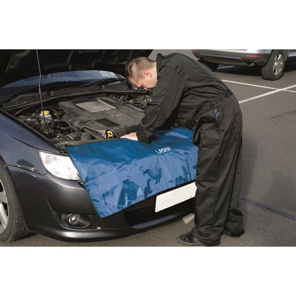 Grill Protector - Blue