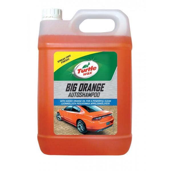 Big Orange Car Shampoo - 5 Litre