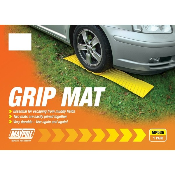 Grip Mat - Yellow - Pack of 2