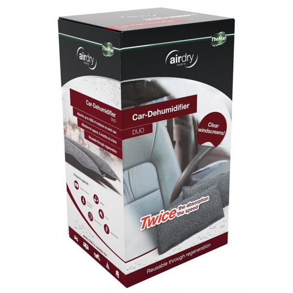 AirDry Duo Re-Usable Dehumidifier - 2 x 600g