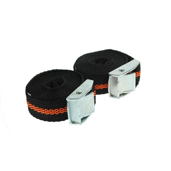 Luggage Straps with Cam Buckle - 2.5m x 25mm - Pack of 2