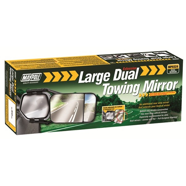 Towing Extension Mirror - Dual Glass