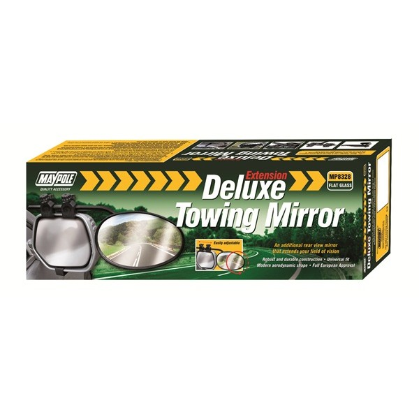 Towing Extension Mirror - Deluxe Flat Glass