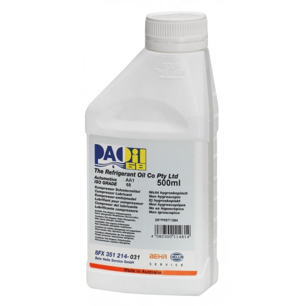 PAO Oil 68 AA1 - 500ml