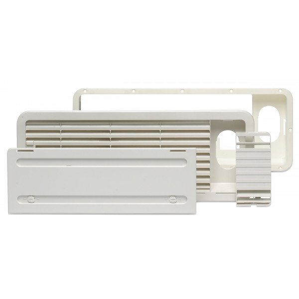 LS100 Fridge Top Vent Grill - White
