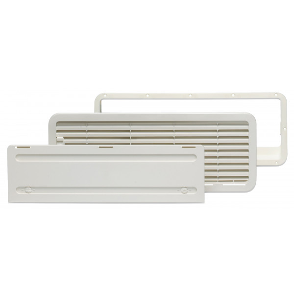LS200 Bottom Vent Grill - White