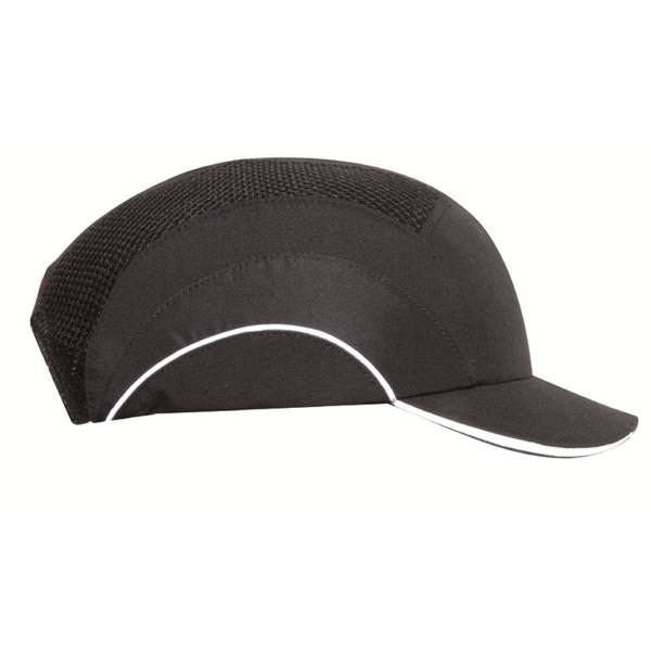 Hardcap A1+ with Short Peak (5cm) - Black