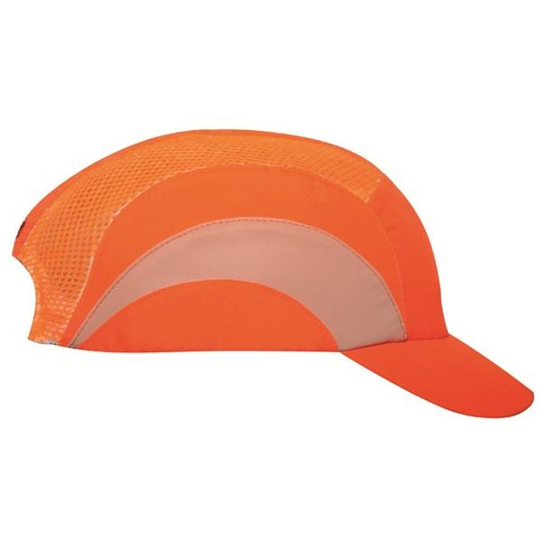 Hardcap A1+ with Short Peak (5cm) - Orange