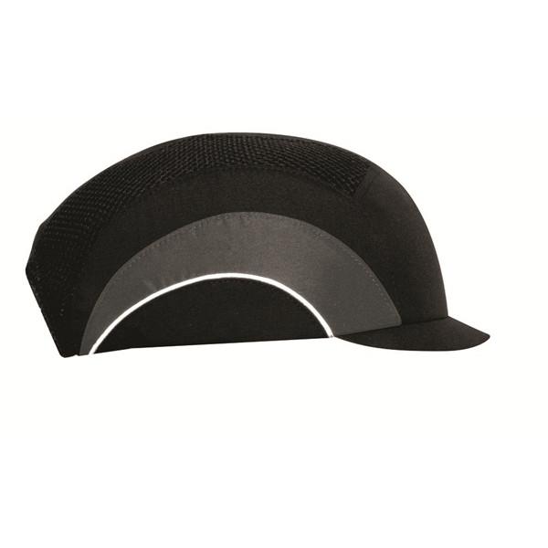 Hardcap A1+ with Micro Peak (3cm) - Black & Grey