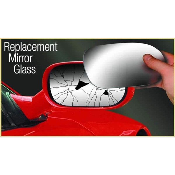 Mirror Glass Replacement - (Antidazzle) OEM Style With Heated Base Plate