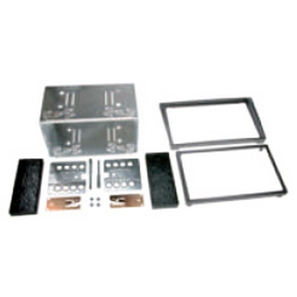 Double DIN Fitting Kit - Vauxhall - Anthracite