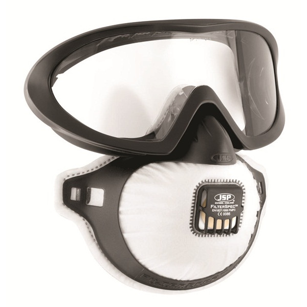 FMP3 FilterSpec Pro Goggles & Disposable Mask - Valved