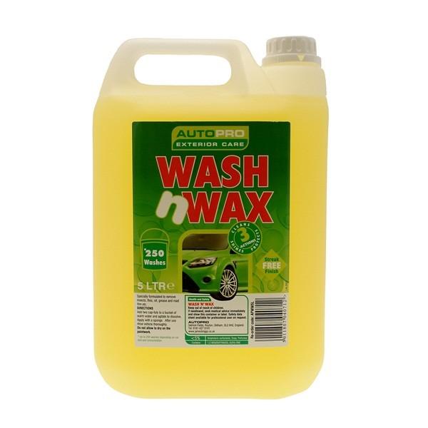 Wash & Wax - 5 Litre
