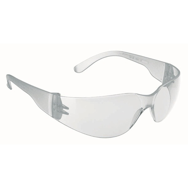 Stealth 7000 Glasses - Clear Frame - Clear Hardcoat Lens