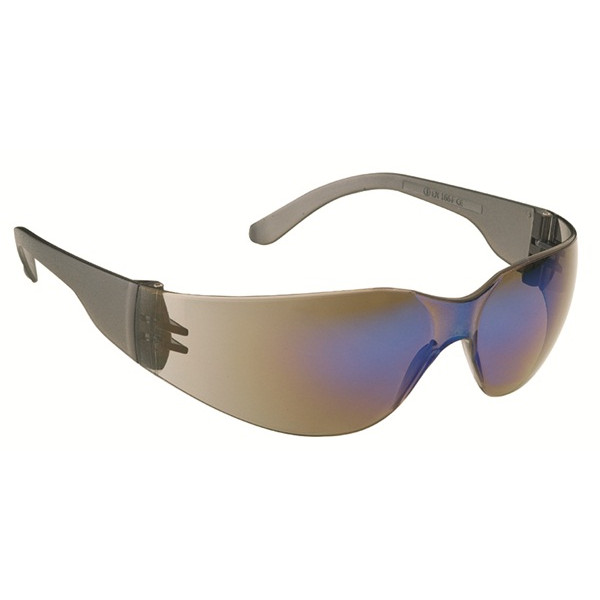 Stealth 7000 Glasses - Smoke Frame - Red Hardcoat Mirror Lens