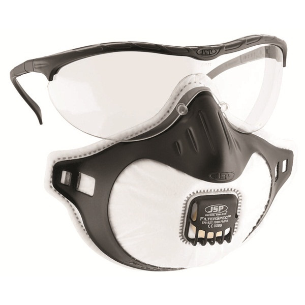 FMP2 FilterSpec Spectacles & Disposable Mask - Valved