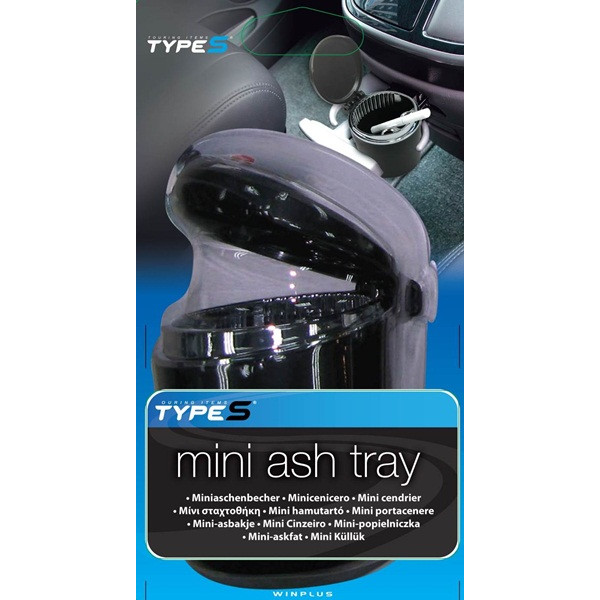 Mini Ashtray - Black