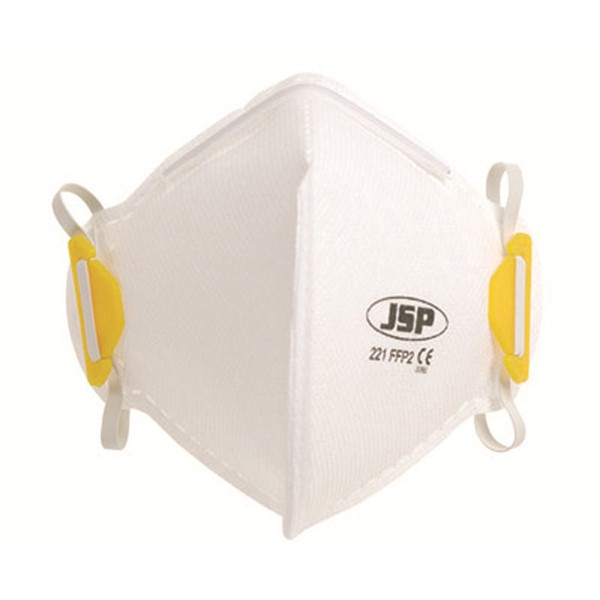 FFP2 Fold Flat Vertical Disposable Masks - Unvalved - Pack of 20