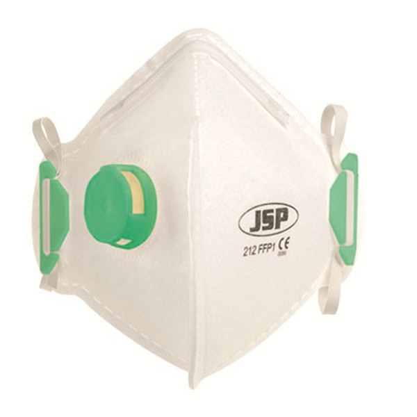 FFP1 Fold Flat Vertical Disposable Masks - Valved - Pack of 10