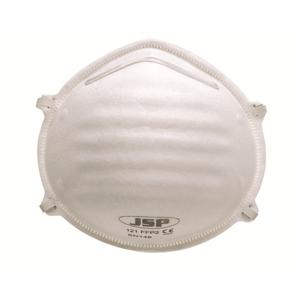 FFP2 Moulded Disposable Masks - Unvalved - Pack of 20
