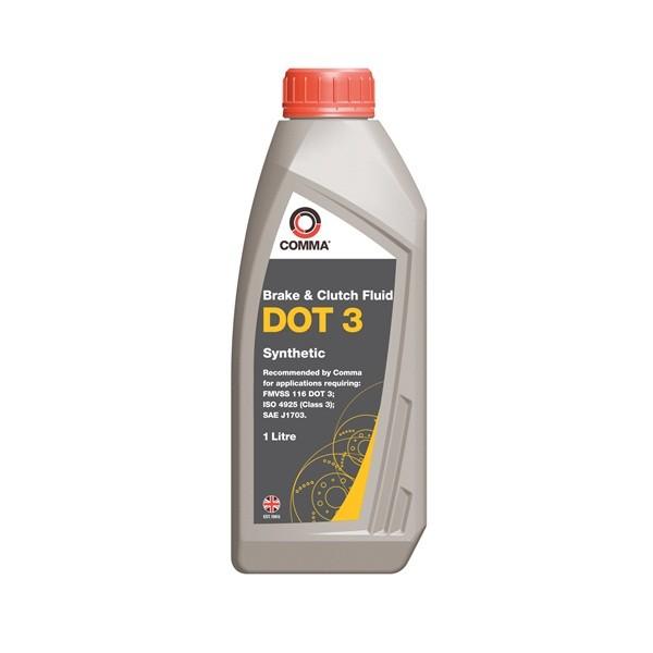DOT 3 Synthetic Brake & Clutch Fluid - 1 Litre