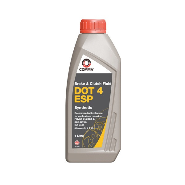 DOT 4 ESP Synthetic Brake & Clutch Fluid - 1 Litre