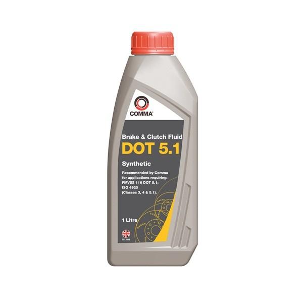DOT 5.1 Synthetic Brake & Clutch Fluid - 1 Litre