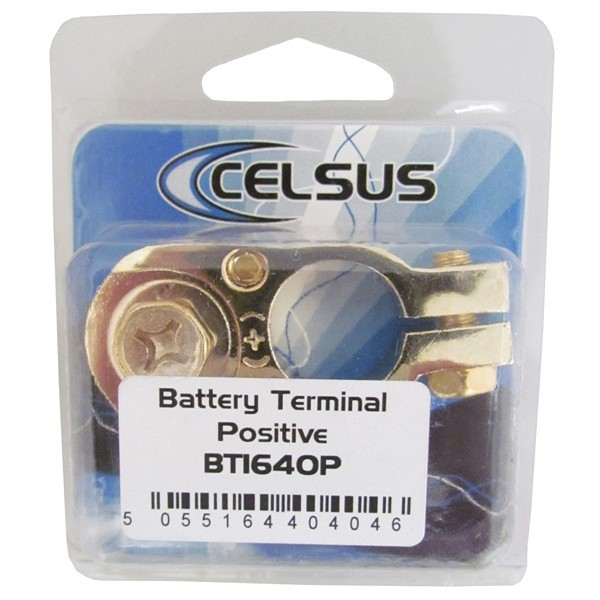 Battery Terminal - Positive - 2 x 8 AWG - Pack of 1