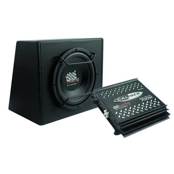 Speakers - Basscube with Subwoofer & Amplifier - 12in.
