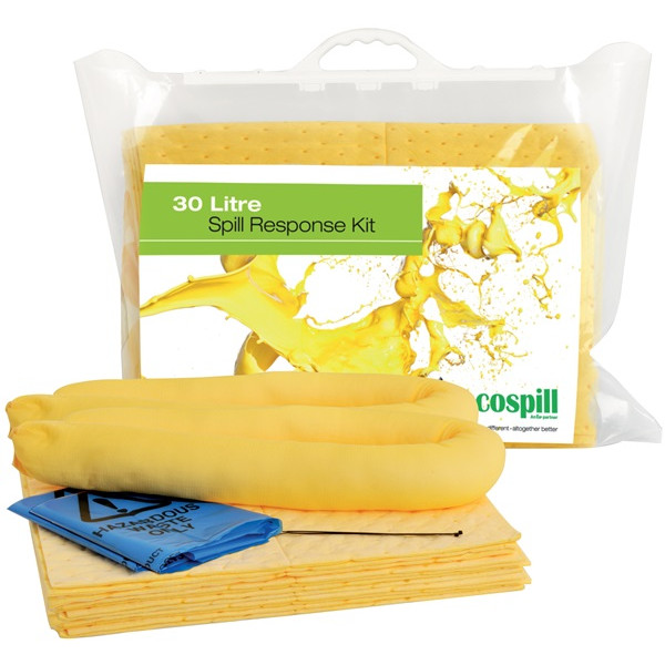 Chemical Clip Top Spill Kit - 30 Litre