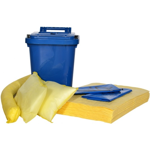 Chemical Spill Kit Caddy - 25 Litre
