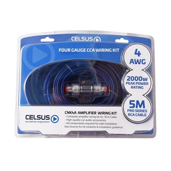 CCA Wiring Kit - 4 AWG