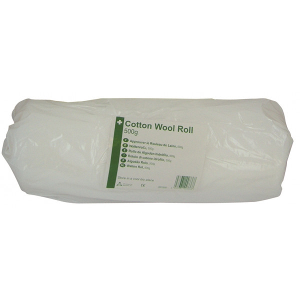 HypaCover Cotton Wool Roll - 500g