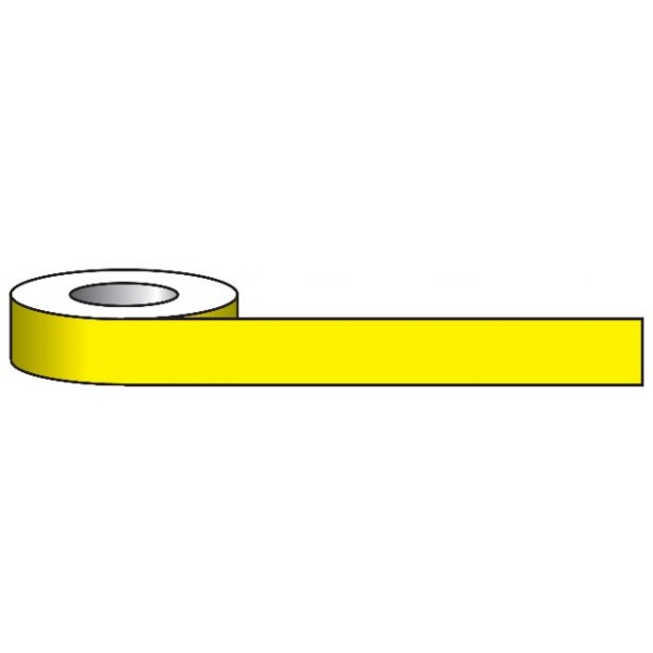 Aisle Marking Tape - Yellow - 33m x 50mm
